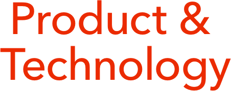 Product & Technology